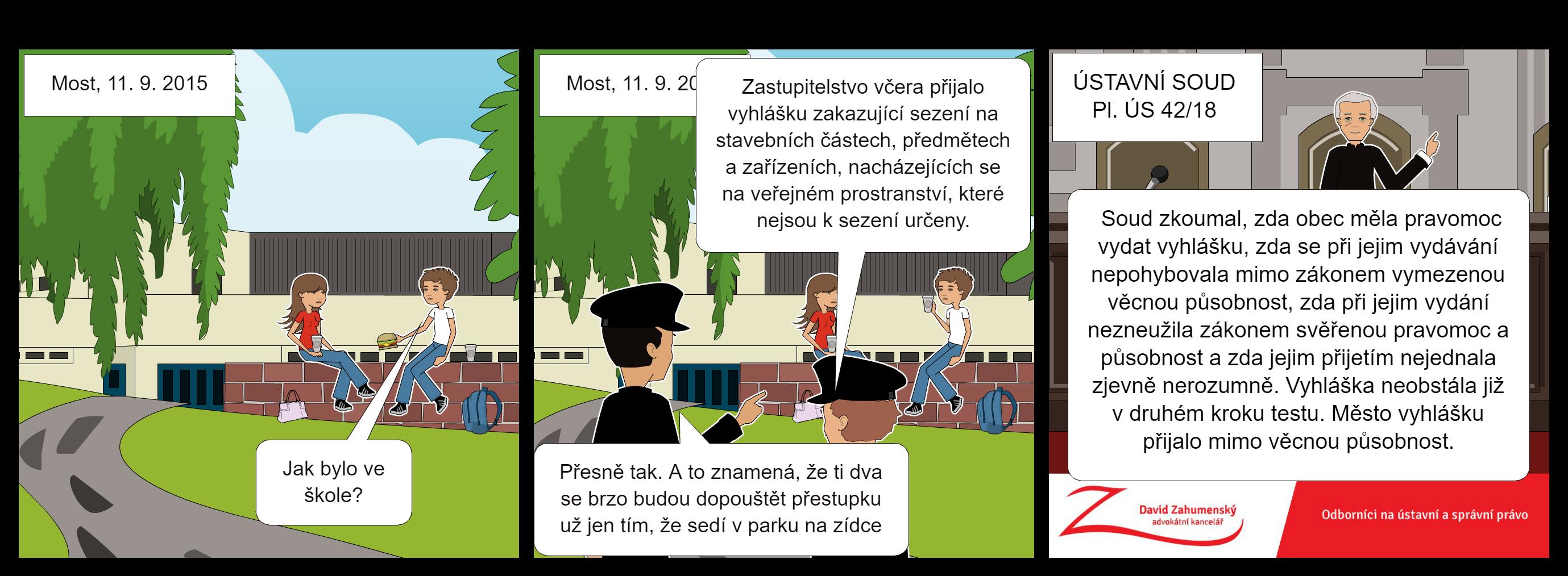 komiks k nálezu Ústavního soudu Pl. ÚS 42/18
