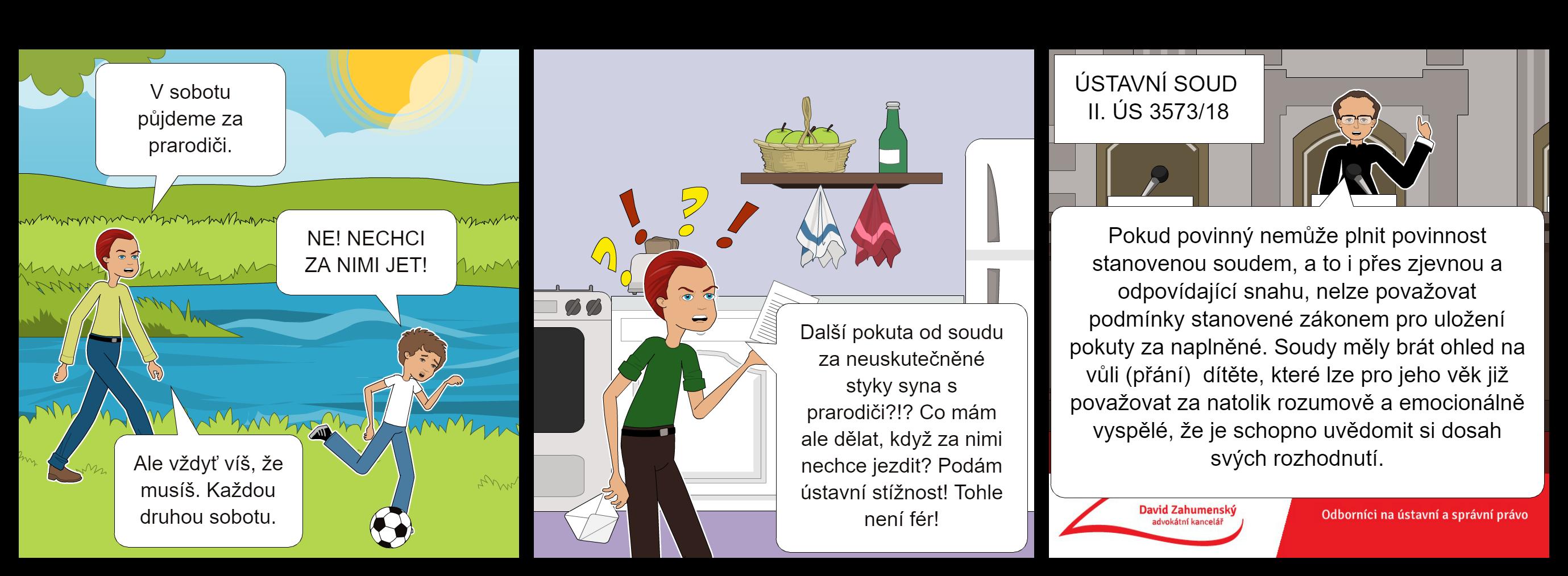 Komiks k nálezu sp. zn. II. ÚS 3573/18
