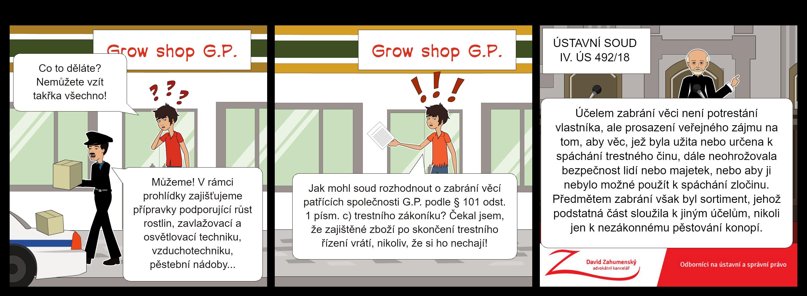 Komiks k nálezu Ústavního soudu sp. zn. IV. ÚS 492/18