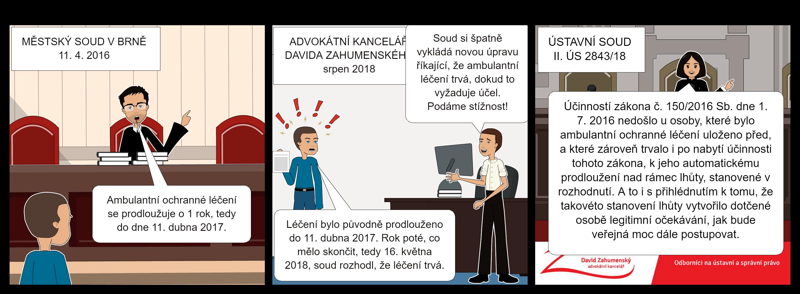 Komiks k nálezu II. ÚS 2843/18
