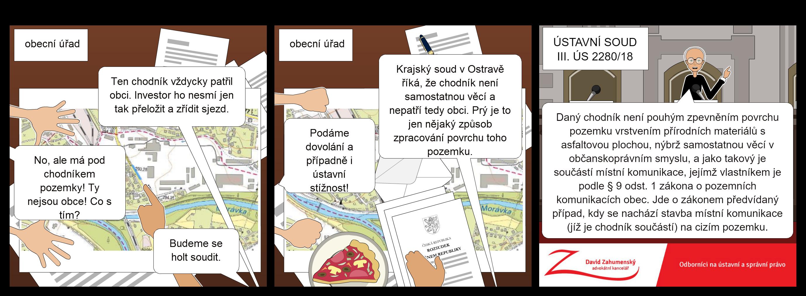 Komiks k nálezu Ústavního soudu sp. zn. III. ÚS 2280/18