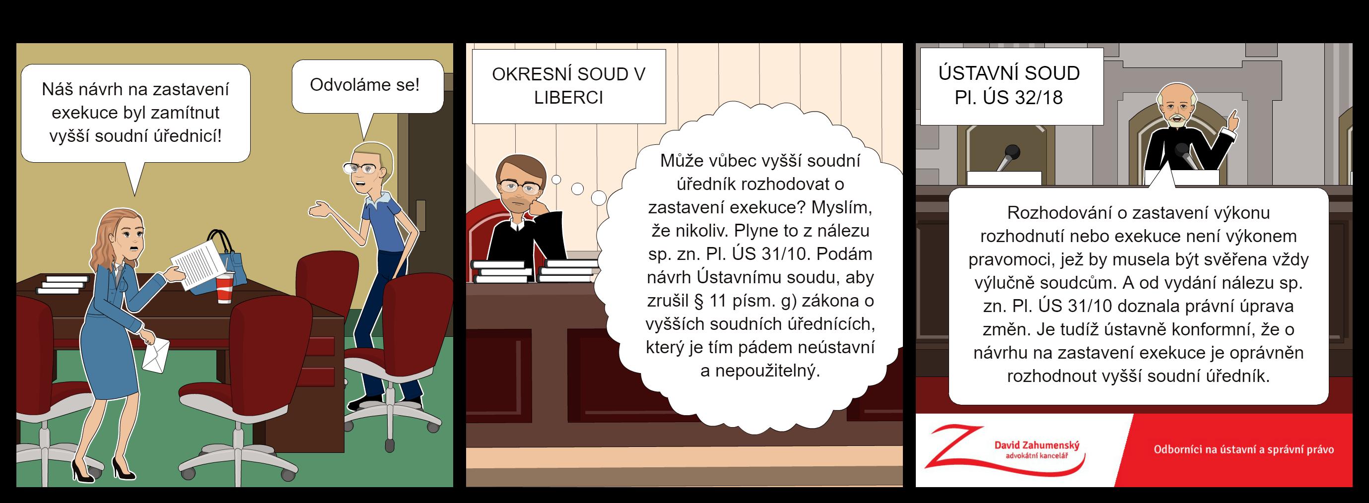 Komiks k nálezu Ústavního soudu Pl. ÚS 32/18